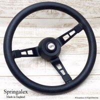 Springalex Steering Wheel Full Set/スプリンガレックス ステアリング 48スプライン ミニ用 フルセット