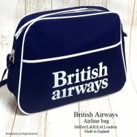 <img class='new_mark_img1' src='//img.shop-pro.jp/img/new/icons14.gif' style='border:none;display:inline;margin:0px;padding:0px;width:auto;' />1970's 初期 British Airways Airline bag shoulder NOS/エアライン ショルダーバッグ デッドストック未使用