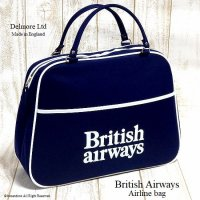 1970's 初期 British Airways Airline bag Boston NOS/エアライン ボストンバッグ デッドストック未使用