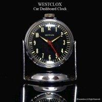 希少!Westclox Car Dashboard Clock/ウェストクロックス カークロック マグネット