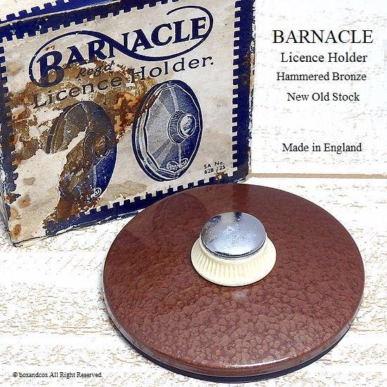 貴重!初期型 BARNACLE TAX DISC/バーナ...