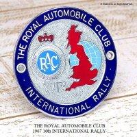 貴重!1967年 16th RAC INTERNATIONAL RALLY グリル・カーバッジ デッドストック未使用