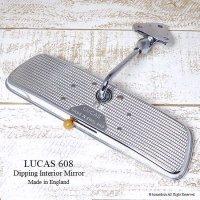 希少!当時物 LUCAS 608  INTERIOR MIRROR ルーカス 防眩インテリア ルームミラー ワークス