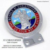 貴重!1960's  ST.CHRISTOPHER/セント・クリストファー カー バッジ デッドストック
