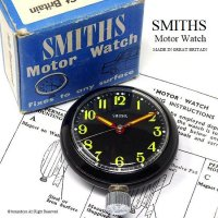 <img class='new_mark_img1' src='//img.shop-pro.jp/img/new/icons13.gif' style='border:none;display:inline;margin:0px;padding:0px;width:auto;' />SMITHS Motor Watch/スミス モーターウォッチ BK マグネット オリジナルBOX