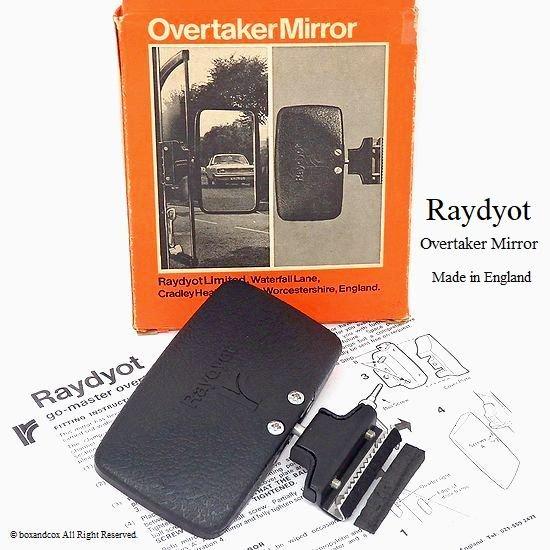 希少!Raydyot overtaking mirror/レイヨット オーバーテイキング ミラー デッドストック BOX