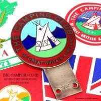 貴重!当時物 THE CAMPING CLUB OF GREAT BRITAIN カーバッジ J.R.GAUNT製