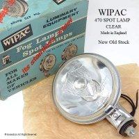 1960's WIPAC 470 SPOT LAMP/ワイパック 470 スポットランプ デッドストック 箱入り