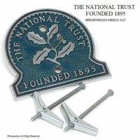 希少!1950-60's 英国 THE NATIONAL TRUST ナショナルトラスト カーバッジ 円形
