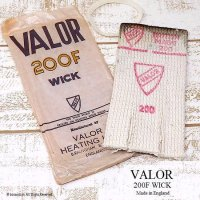 VALOR 200F WICK/バーラー ストーブ 替芯 64用 デッドストック パッケージ入り