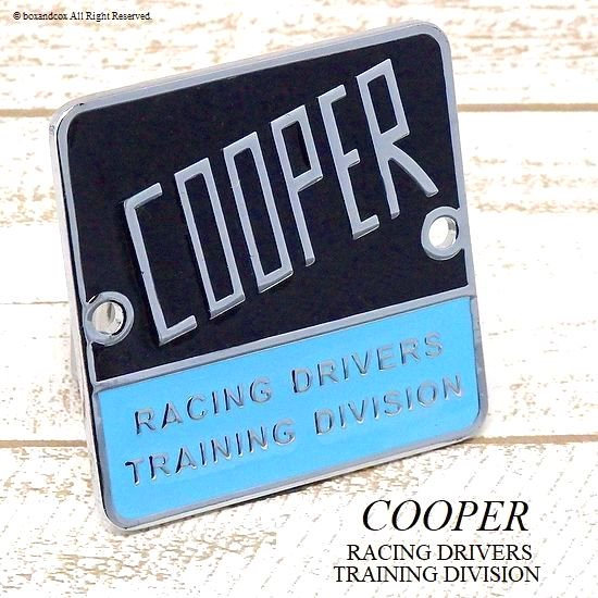 COOPER RACING DRIVERS TRAINING DIVISI...