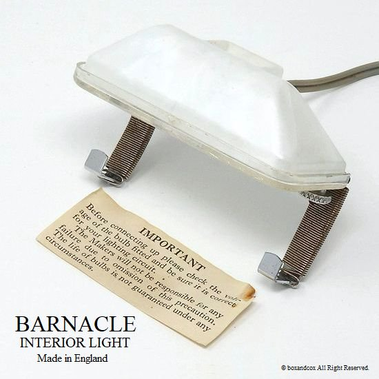 レア!英国 Barnacle Interior Light/バ...