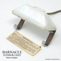 レア!英国 Barnacle Interior Light/バーナクル インテリアミラー ライト デッドストック未使用