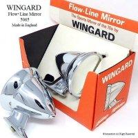WINGARD Flow Line Mirror/ウィンガード レーシングミラー デッドストック ディスプレーBOX