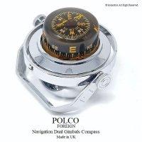 POLCO Navigation Dual Gimbals Compass/ビンテージ ナビゲーション コンパス