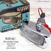 WIPAC Reversing Lamp Brass Hood/ワイパック リバース ランプ ひさし付 デッドストック新品 箱付