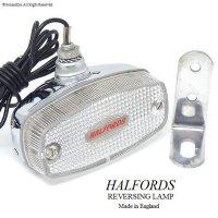 HALFORDS REVERSING LAMP/ハルフォード リバーシングランプ デッドストック新品 オリジナルステー付