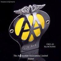 当時物 オリジナル AA グリル バッジ (1962-1963) フィティング付