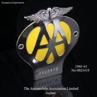 当時物 オリジナル AA グリル バッジ (1960-1961) フィティング付