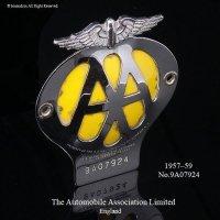 当時物 オリジナル AA グリルバッジ 初期物(1957-1959) フィティング付