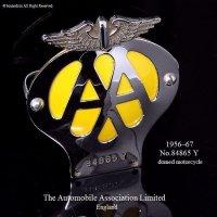 当時物 AA グリル バッジ (1956-1967) モーターサイクル オリジナルフィティング付