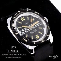 <img class='new_mark_img1' src='//img.shop-pro.jp/img/new/icons13.gif' style='border:none;display:inline;margin:0px;padding:0px;width:auto;' />1973年 Vintage TIMEX  DIVERS DATE RALLY /英国 ビンテージ タイメックス ダイバーズ デイト ラリー 腕時計