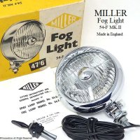 <img class='new_mark_img1' src='//img.shop-pro.jp/img/new/icons13.gif' style='border:none;display:inline;margin:0px;padding:0px;width:auto;' />1960's MILLER FOG LIGHT No.54.F MK�/ミラー フォグランプ デッドストック 箱入