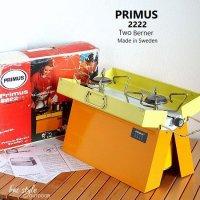 Vintage Primus 2222 Two Berner/プリムス ツーバーナー 箱付 キャンプ
