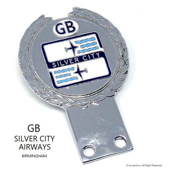 当時物 SILVER CITY AIRWAYS GB カーバ...