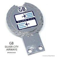 当時物 SILVER CITY AIRWAYS GB カーバッジ デッドストック