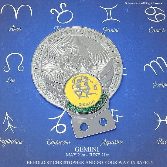 1960's ST.CHRISTOPHER GEMINI/セント ...