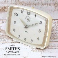 1960's SMITHS Alarm Gay Dawn/スミス 目覚まし時計 ゲイダウン GOLD