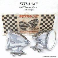 1960's 英国 STYLA M1 Mirror/スタイラ ミラー デッドストック BOX
