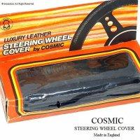 当時物 COSMIC STEERING WHEEL COVER/コスミック ステアリングカバー デッドストック新品 BOX