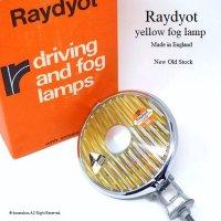 Raydyot yellow fog lamp/レイヨット イエローフォグランプ デッドストック BOX