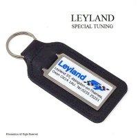 英国製 Leyland ST/レイランド スペシャルチューニング  レザー キーホルダー