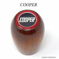 英国製 COOPER/クーパー シフトノブ ウッド