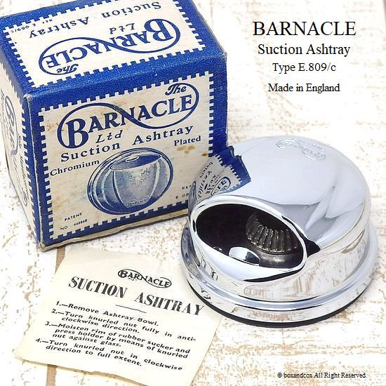 貴重!Barnacle Suction Ashtray/バーナ...