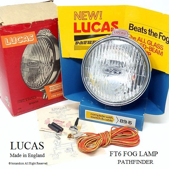貴重!1965年製 LUCAS FT6 FOG LAMP/フ...