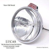貴重!LUCAS WLR6 BACKFIXING LONG RANGE LAMP/バックスポットランプ デッドストック