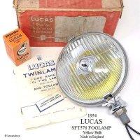 貴重!1954年製 LUCAS SFT576/ルーカス フォグランプ イエローバルブ デッドストック BOX