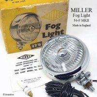1960's MILLER FOG LIGHT No.54.F MK�/ミラー フォグランプ デッドストック BOX