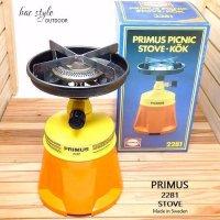 Vintage Primus 2281 Picnic Stove/プリムス シングルバーナー 箱付 ニアデッド キャンプ