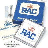 希少!1970's RAC-Royal Automobile Club グリルバッジ デッドストック 新品 BOX