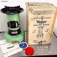 VALOR MINOR 64G BOILING STOVE/バーラー クッキング ストーブ 箱付 キャンプ