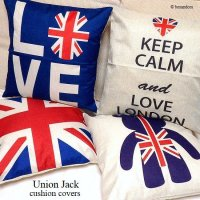 <img class='new_mark_img1' src='//img.shop-pro.jp/img/new/icons13.gif' style='border:none;display:inline;margin:0px;padding:0px;width:auto;' />Union Jack cushion cover/ユニオンジャック クッションカバー45cm×45cm