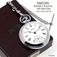 貴重!1970's SMITHS/スミス 懐中時計 アルバートチェーン BOX