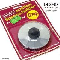 DESMO/デスモ TAX DISC タックスディスク ホルダー SV×BK デッドストック パッケージ