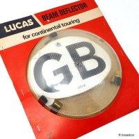LUCAS CONVERTER UNIT CLEAR/ルーカス コンバーター ヘッドライトカバー GBステッカー デッドストック パッケージ
