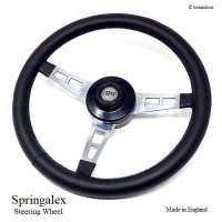 <img class='new_mark_img1' src='https://img.shop-pro.jp/img/new/icons13.gif' style='border:none;display:inline;margin:0px;padding:0px;width:auto;' /> Springalex Steering Wheel Full Set/スプリンガレックス ステアリング 48スプライン ミニ用 フルセット